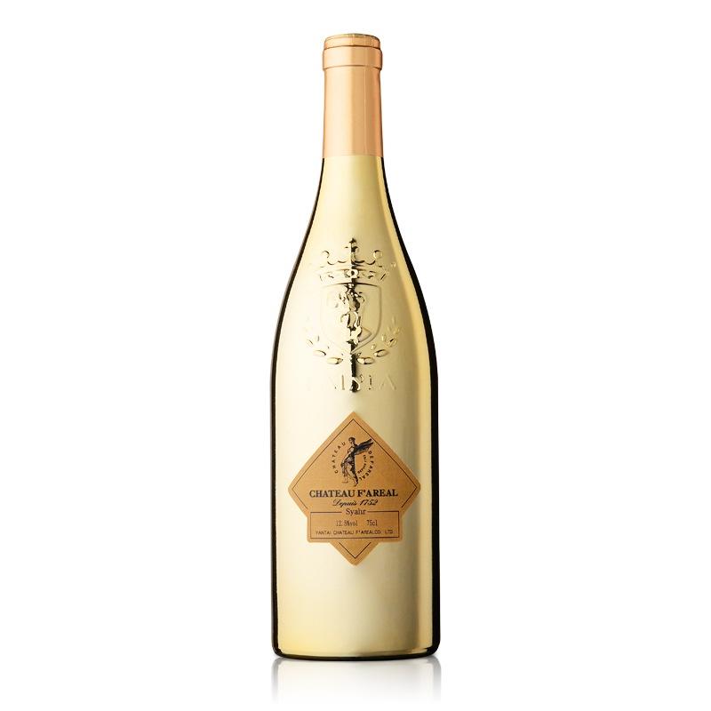 法国法莱雅酒堡西拉干红葡萄酒(金瓶)750ml