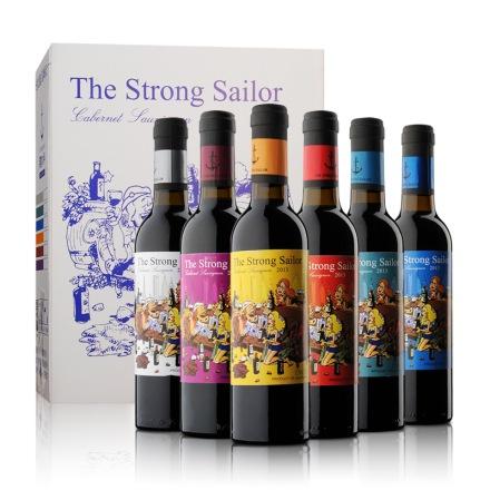 12.5°澳洲詹姆士漂客水手2013赤霞珠干红葡萄酒375ml*6(乐享)