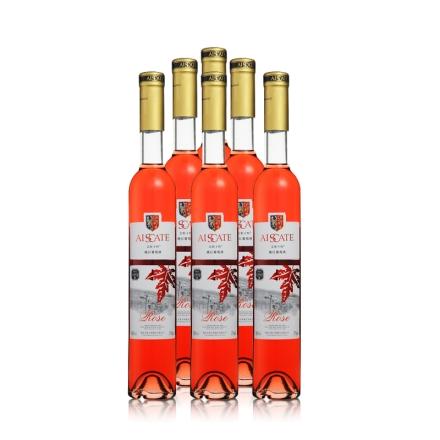 10°艾斯卡特Rose桃红葡萄酒375ml(6瓶装)