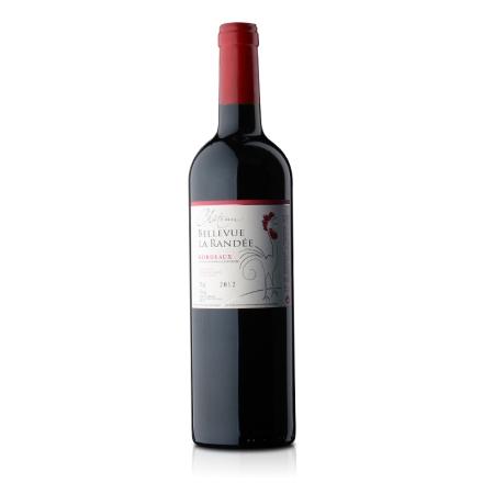 图内文大公鸡美域堡干红葡萄酒750ml