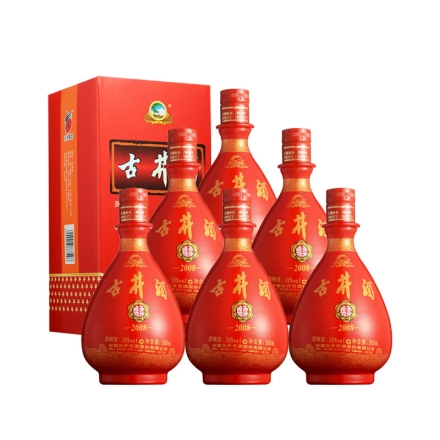 38°古井酒绵柔2008 500ml(6瓶装)
