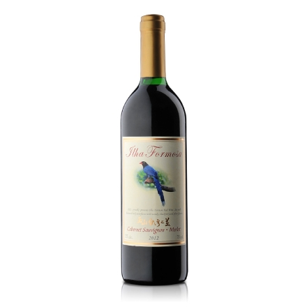 玉山台湾之美红葡萄酒(台湾蓝鹊)750ml