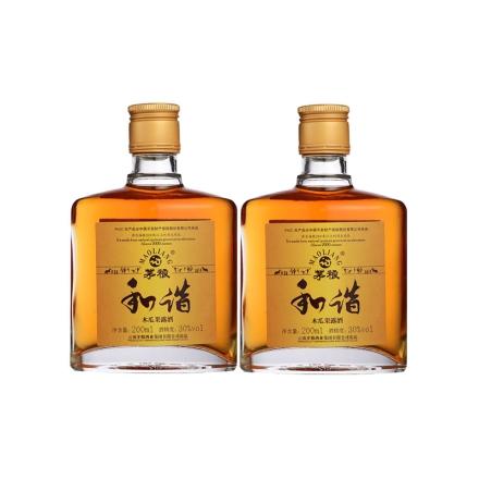 30°茅粮和谐木瓜果露酒 200ml(双瓶装)