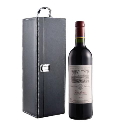 法国拉菲尚品波尔多法定产区红单支礼盒装