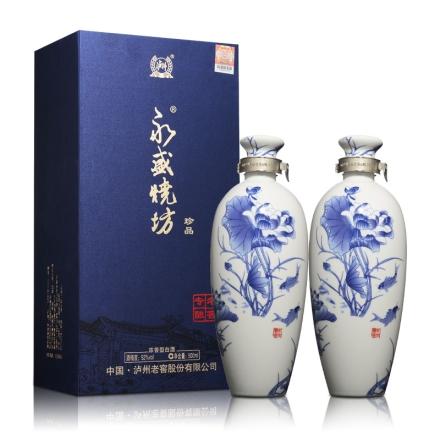 52°泸州老窖永盛烧坊老窖专酿荷塘月色500ml(双瓶装)