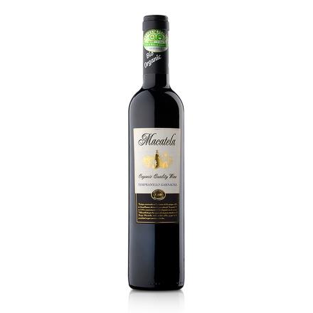 西班牙德尔加多马卡特拉有机干红葡萄酒500ml(乐享)