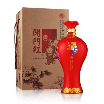 【清仓】60°湘泉酒业开门红酒(小梅瓶)1500ml