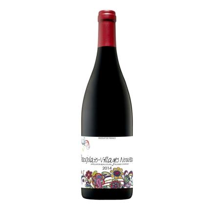 【清仓】法国博若莱新酒 村庄 缤纷之花干红葡萄酒750ml (海运版)