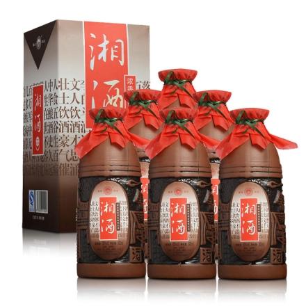 50°湘泉湘酒500ml(6瓶装)
