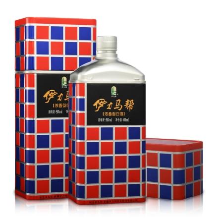 50°伊力特·伊力马帮(铁盒)600ml(双瓶装)