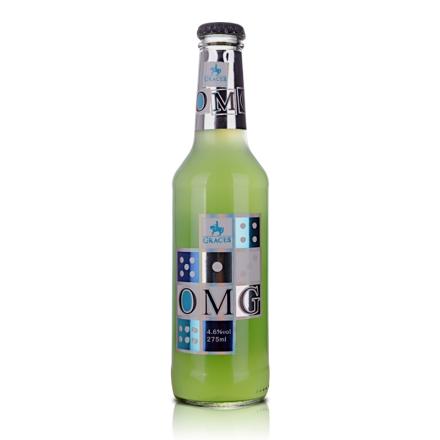 4.6°格拉芙-OMG朗姆预调酒苹果味275ml(乐享)