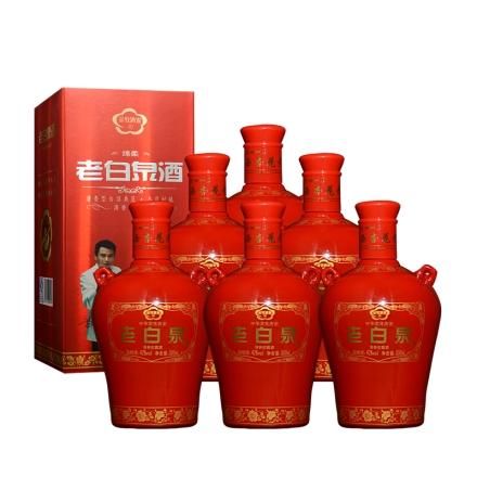 42°老白泉酒绵柔500ml(6瓶装)