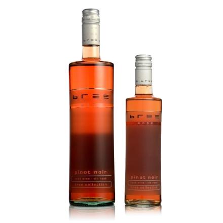德国Bree黑皮诺半甜型桃红葡萄酒750ml+德国Bree黑皮诺桃红葡萄酒250ml
