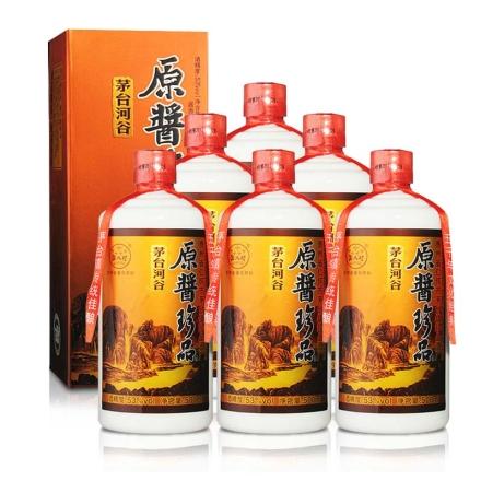 53°茅台河谷原酱500ml(6瓶装)