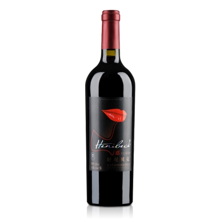 轩尼贝克红唇干红葡萄酒750ml