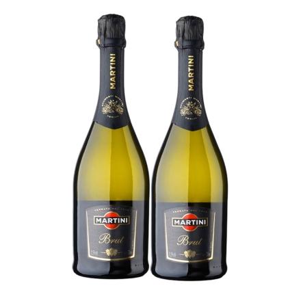 意大利马天尼干型起泡葡萄酒750ml 双瓶装
