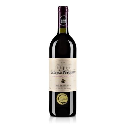 法国波尔多村庄级AOC卡宾古堡干 红葡萄酒(2007)750ml