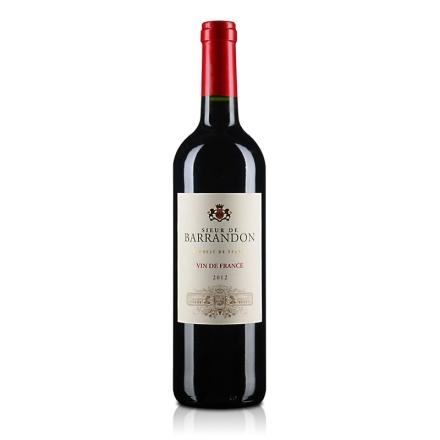 法国巴兰顿先生红葡萄酒750ml