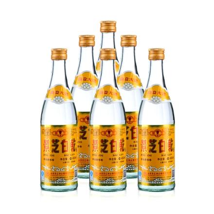 【超级单品日】49°景芝白乾480ml(6瓶装)