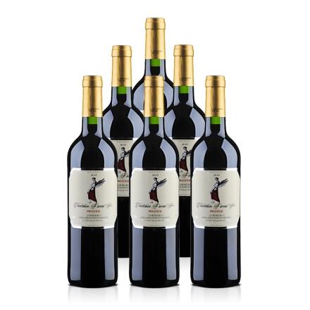 法国法莱雅F06原瓶进口AOC干红葡萄酒750ml(6瓶装)