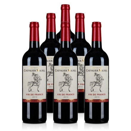法国路海勒骑士红葡萄酒750ml(6瓶装)