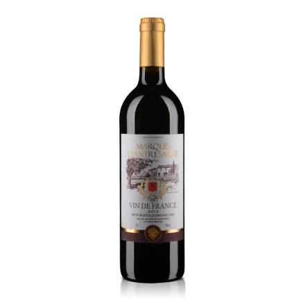 法国安德赛侯爵干红葡萄酒750ml