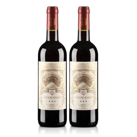法国男爵窖藏精品2011干红葡萄酒(双瓶装)