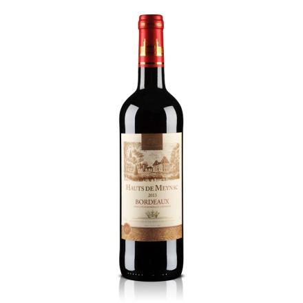 法国波尔多AOC美雅客干红葡萄酒750ml