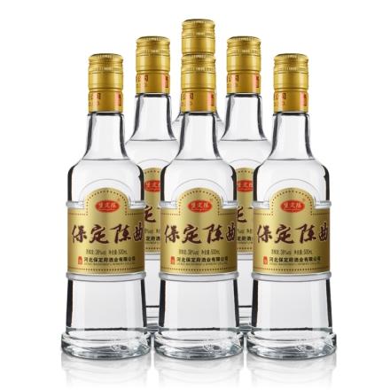 38°保定百年保定陈曲500ml(6瓶装)
