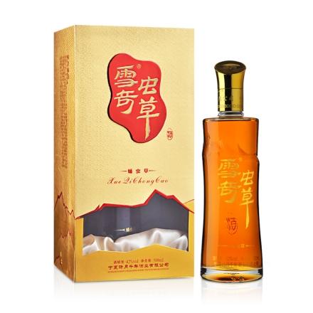42°雪奇蛹虫草酒黄金版500ml(乐享)