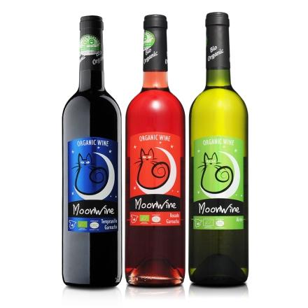 西班牙德尔加多穆恩有机葡萄酒装