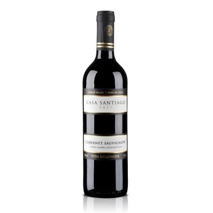 智利圣地亚歌赤霞珠干红葡萄酒750ml