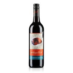澳大利亚天使鱼珊瑚系列加本力苏维翁半干红葡萄酒750ml