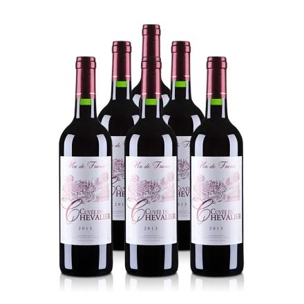 法国古崴骑士红葡萄酒 750ml(6瓶装)