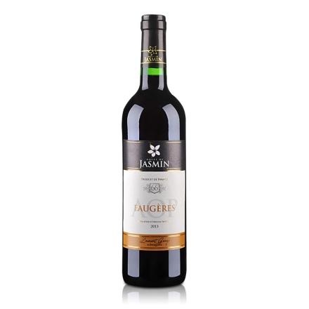 法国红酒AOP茉莉花 - 福热尔干红葡萄酒750ml