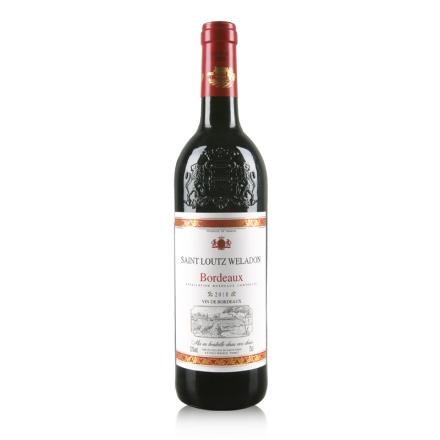 法国波尔多AOC圣露威兰顿2010干红葡萄酒750ml