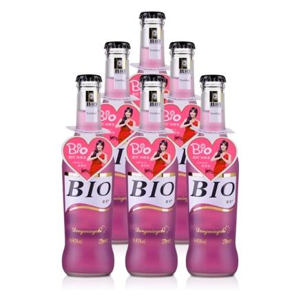 4°BIO蓝莓味预调酒275ml(6瓶装)