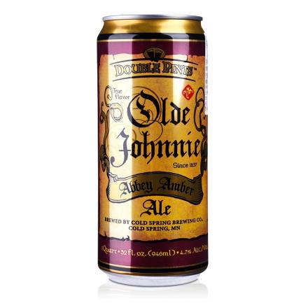4.7°美国酷睿老约翰红啤酒946ml