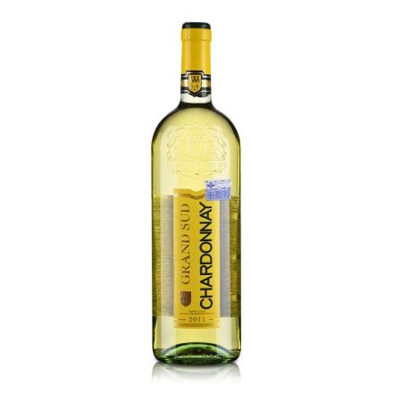 【清仓】法国卡斯特格朗士霞多丽干白葡萄酒1000ml