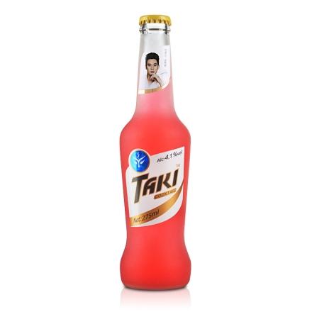 【清仓】4.1°达奇TAKI草莓味伏特加鸡尾酒(预调酒)纯情装275ml