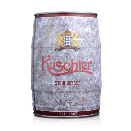 德国库斯特石头白啤酒5L