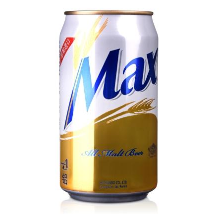 韩国4.5°海特麦思啤酒Max Beer355ml