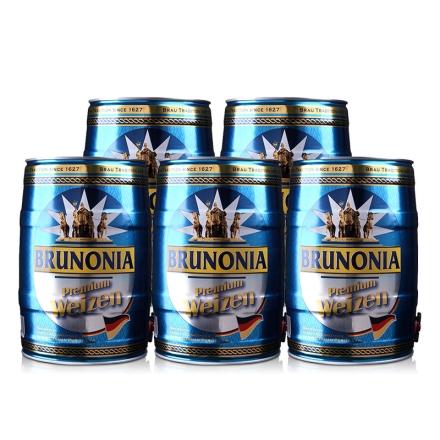 德国埃丝伯爵白啤酒5L(5瓶装)