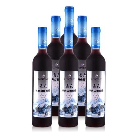 中国通天冰爽山葡萄酒485ml(6瓶装)