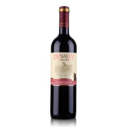 国产红酒(清仓)王朝大酒窖赤霞珠干红葡萄酒750ml