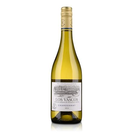 智利巴斯克夏多内白葡萄酒750ml
