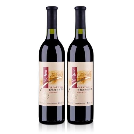 12.5°长城红色庄园干红葡萄酒精选级750ml(双瓶装)