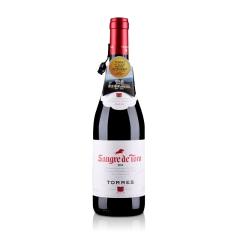 西班牙红酒桃乐丝公牛血干红葡萄酒750ml