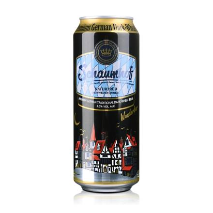 德国雪夫黑啤酒500ml
