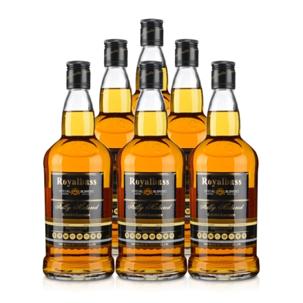 41°皇家贝斯调配威士忌700ml(6瓶装)